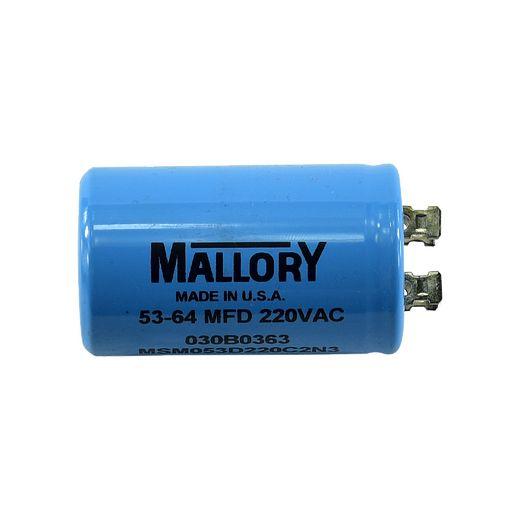 030B0363- Motor Capacitor, 53uF-64uF, 220V