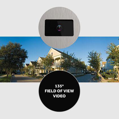 135 Degree field of view for CAPXLV