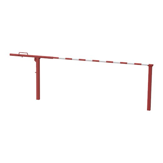 14000N-12 14000N-16 14000N-20, brazo de portón de barrera de elevación manual de 12'-16'-20' SENTINEL a nivel del piso IMAGEN PRINCIPAL