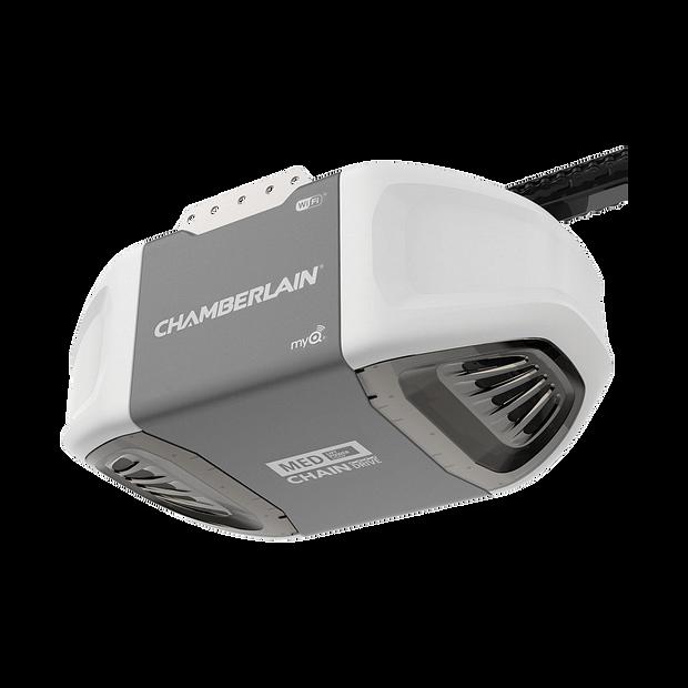 C450 C450C Smartphone-Controlled Durable Chain Drive Garage Door Opener with MED Power HERO