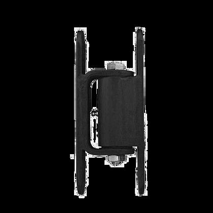 2150B, bisagra estándar GUARDIAN, atornillada al portón, atornillada al poste, negra IMAGEN PRINCIPAL