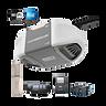 C450 C450C Abre-puerta de garaje durable con accionamiento por cadena comandado por teléfono inteligente con potencia MED EN CAJA