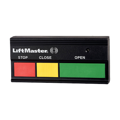 333LM 3-Button Open-Close-Stop Remote Control HERO