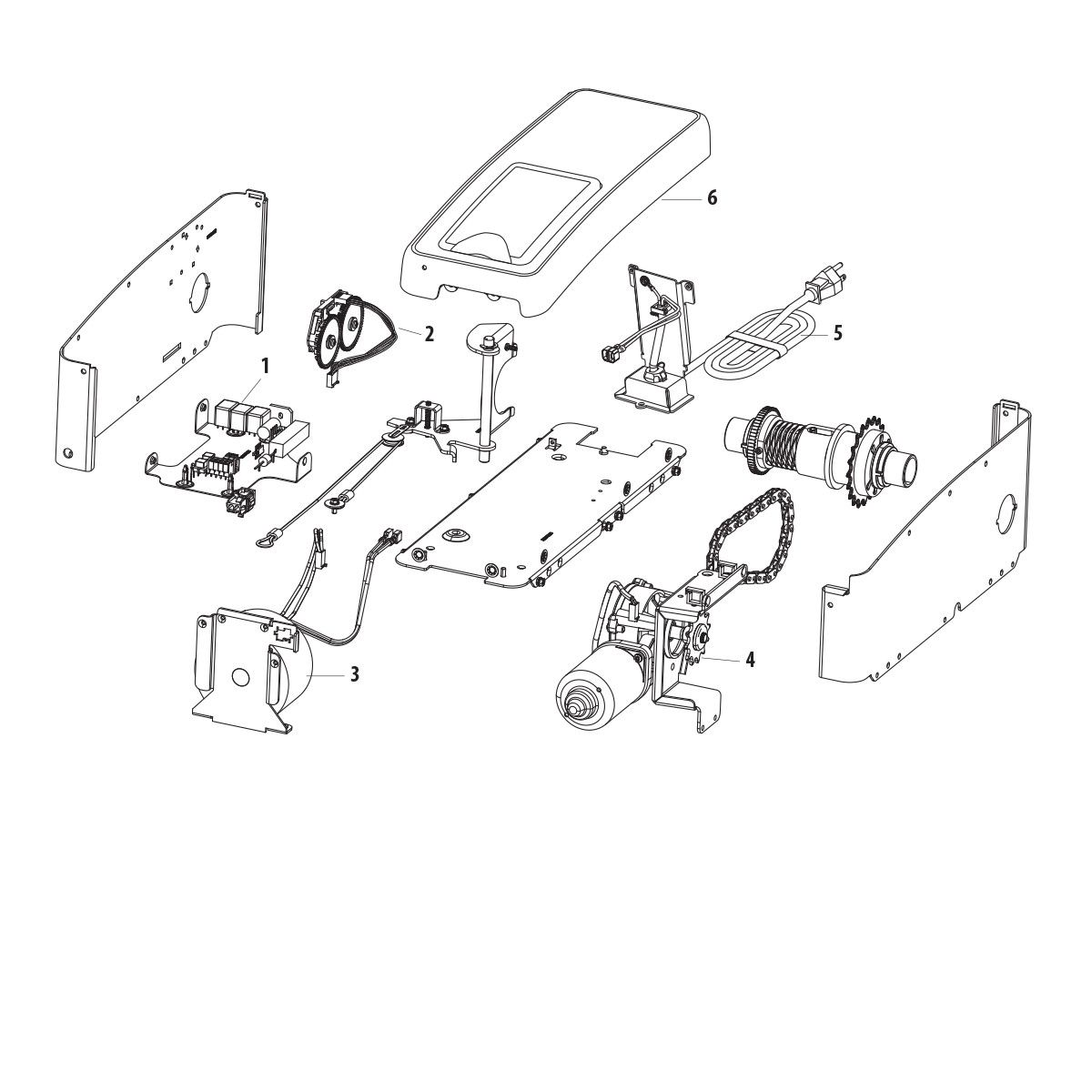 Elite Series 8500 | Wall Mount Garage Door Opener | LiftMaster