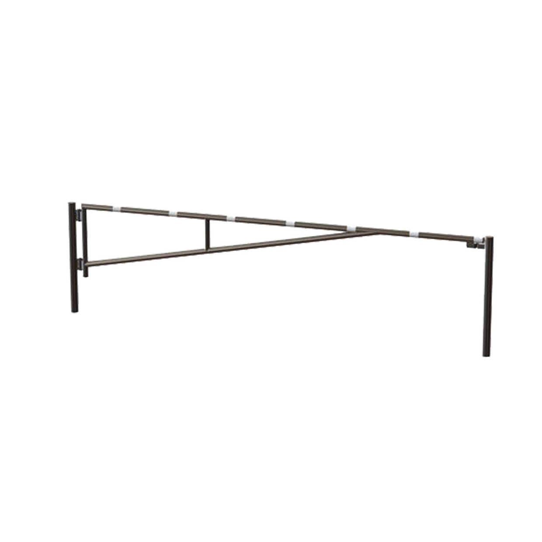 14010 SENTINEL 12'-16'-20' Manual Single Leaf Swing Barrier Gate Arm Galvanized HERO