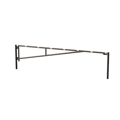 14010 SENTINEL 12'-16'-20' Manual Single Leaf Swing Barrier Gate Arm Galvanized HERO