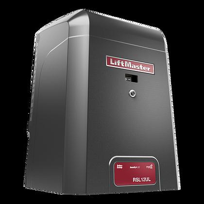 RSL12UL, operador de portón corredizo de 12VCC para uso residencial o comercial liviano