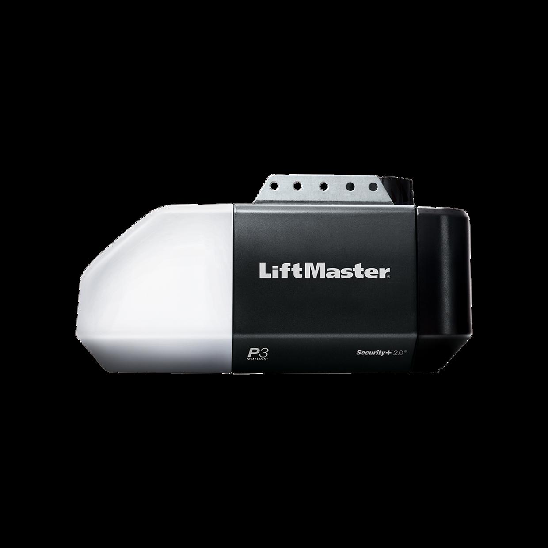 Contractor Series 1 2 Hp Garage Door Opener Liftmaster Remote Access Master 8160 Quiet Chain Drive Hero