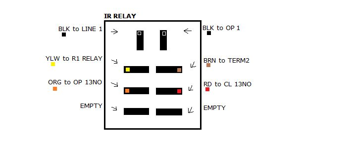 How To Wire The Relays On The Bg770 Or Bg790