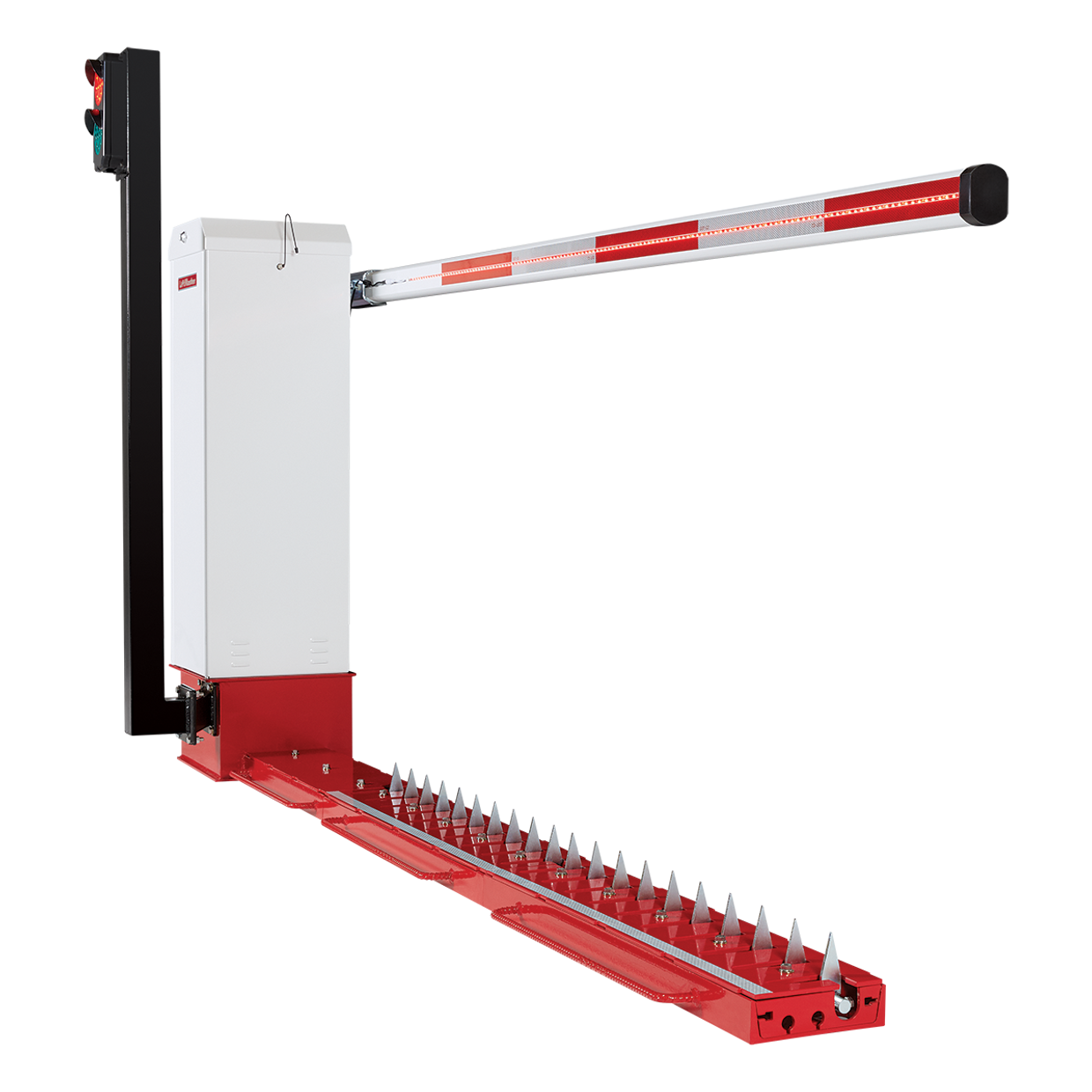 MTF-Motorized Traffic Control: Flush Mount barrier gate traffic spike solution
