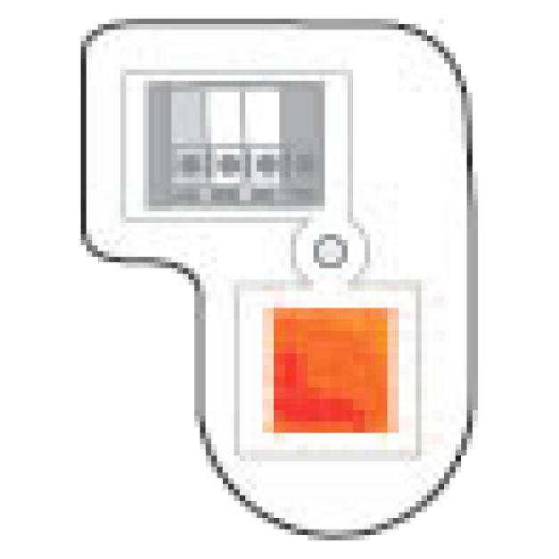 Orange Learn Button