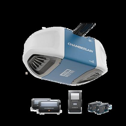 B500 Abre-puerta de garaje resistente y ultrasilencioso, con accionamiento por correa de transmisión, con potencia de elevación MEDIA EN CAJA