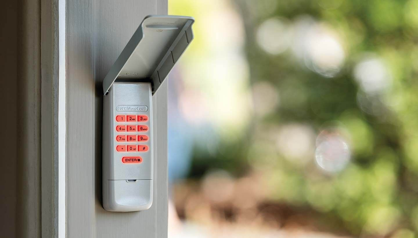 Keypad Liftmaster garage door opener in Chicago