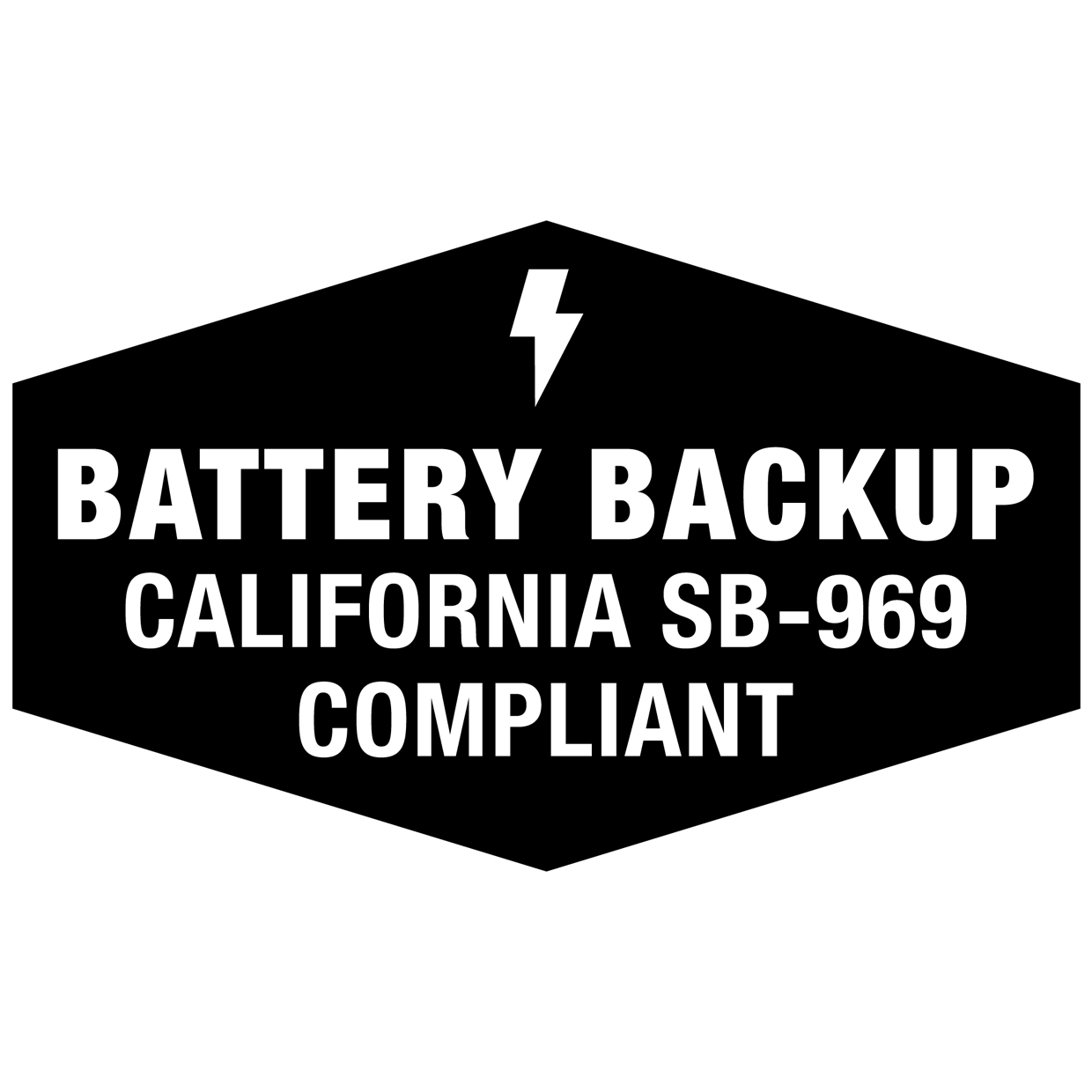 California Battery Backup, BBU
