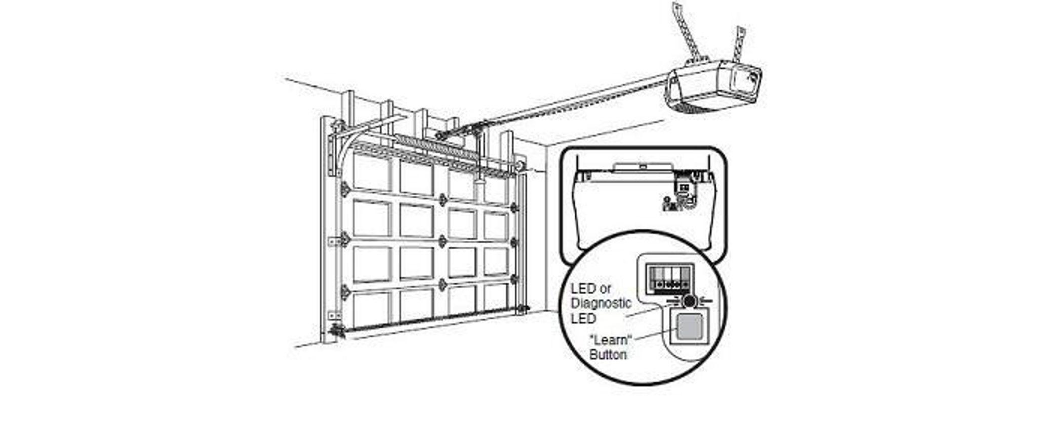 Stanley Garage Door Opener Wiring Diagram. Liftmaster
