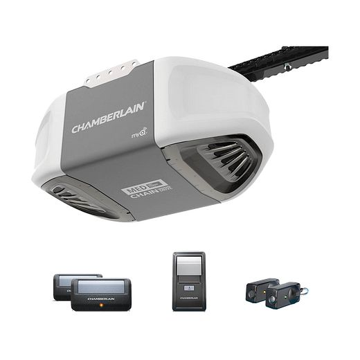 C400 Durable Chain Drive Garage Door Opener with MED Power IN BOX