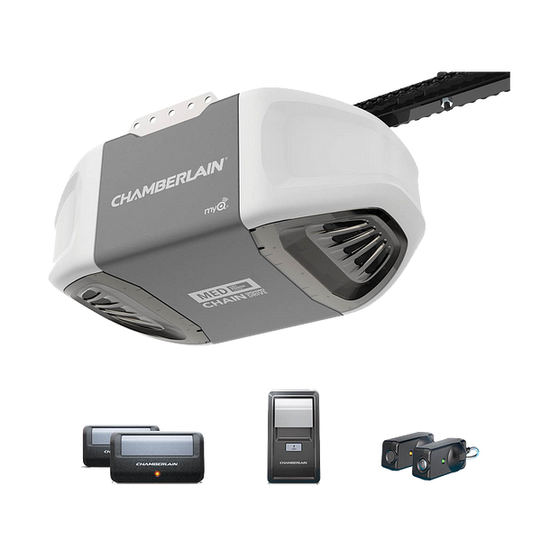 "[""C400 Durable Chain Drive Garage Door Opener with MED Power IN BOX""]"