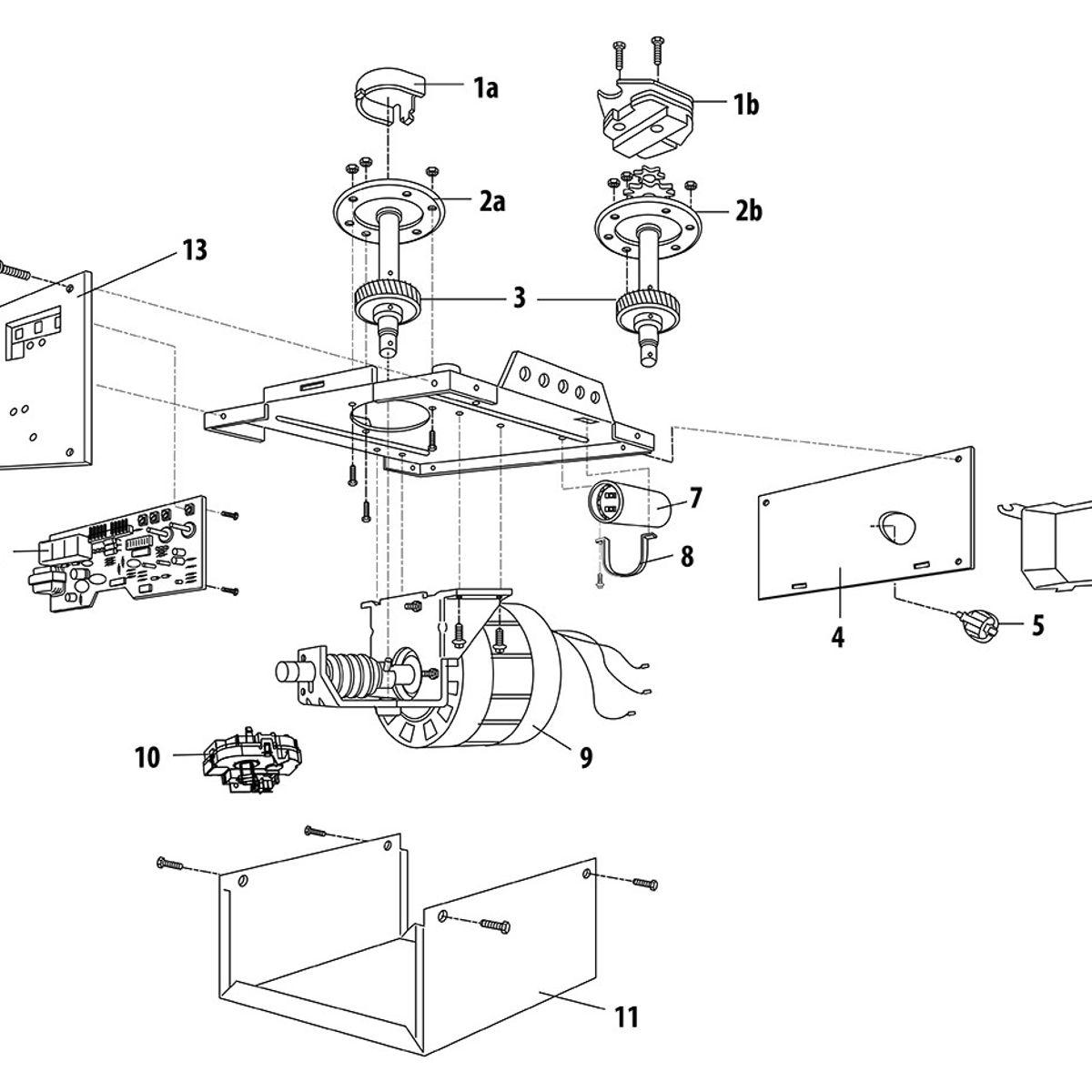 Wiring Diagram Liftmaster Garage Door Opener