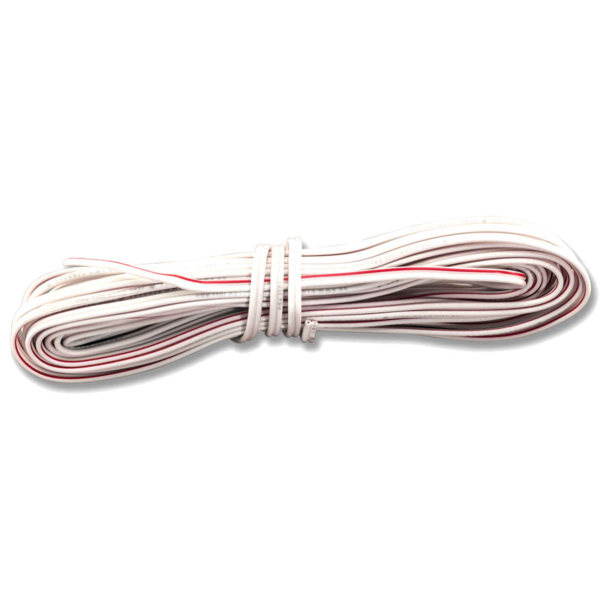 041A0323- Bell Wire - Red/White