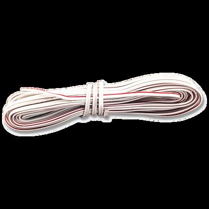 041A0323- Fil de sonnerie, rouge/blanc