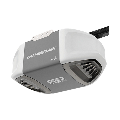 C400 Durable Chain Drive Garage Door Opener with MED Power HERO