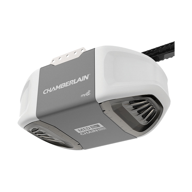"[""C400 Durable Chain Drive Garage Door Opener with MED Power HERO""]"
