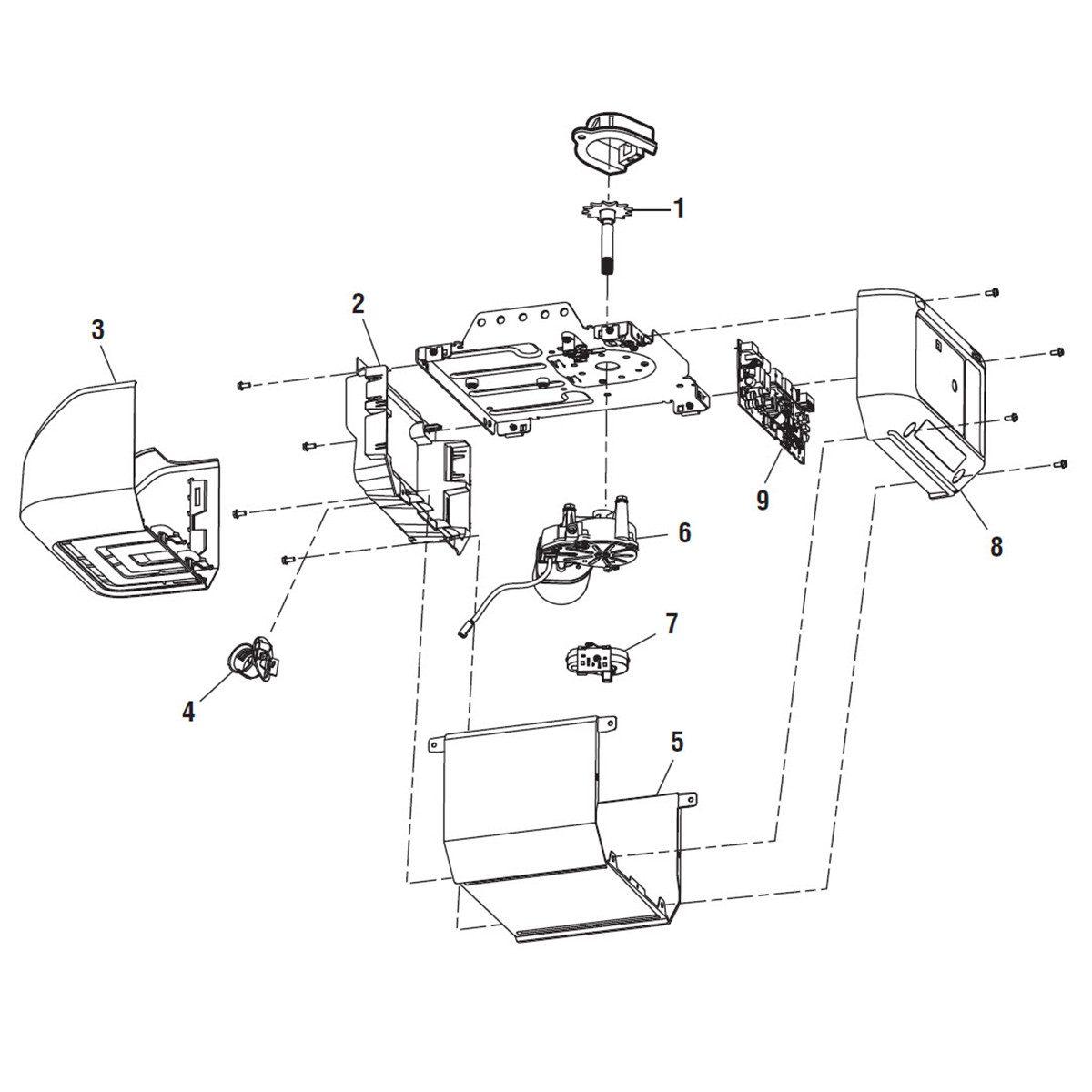 LiftMaster 8160 Replacement Parts | LiftMasterLiftMaster