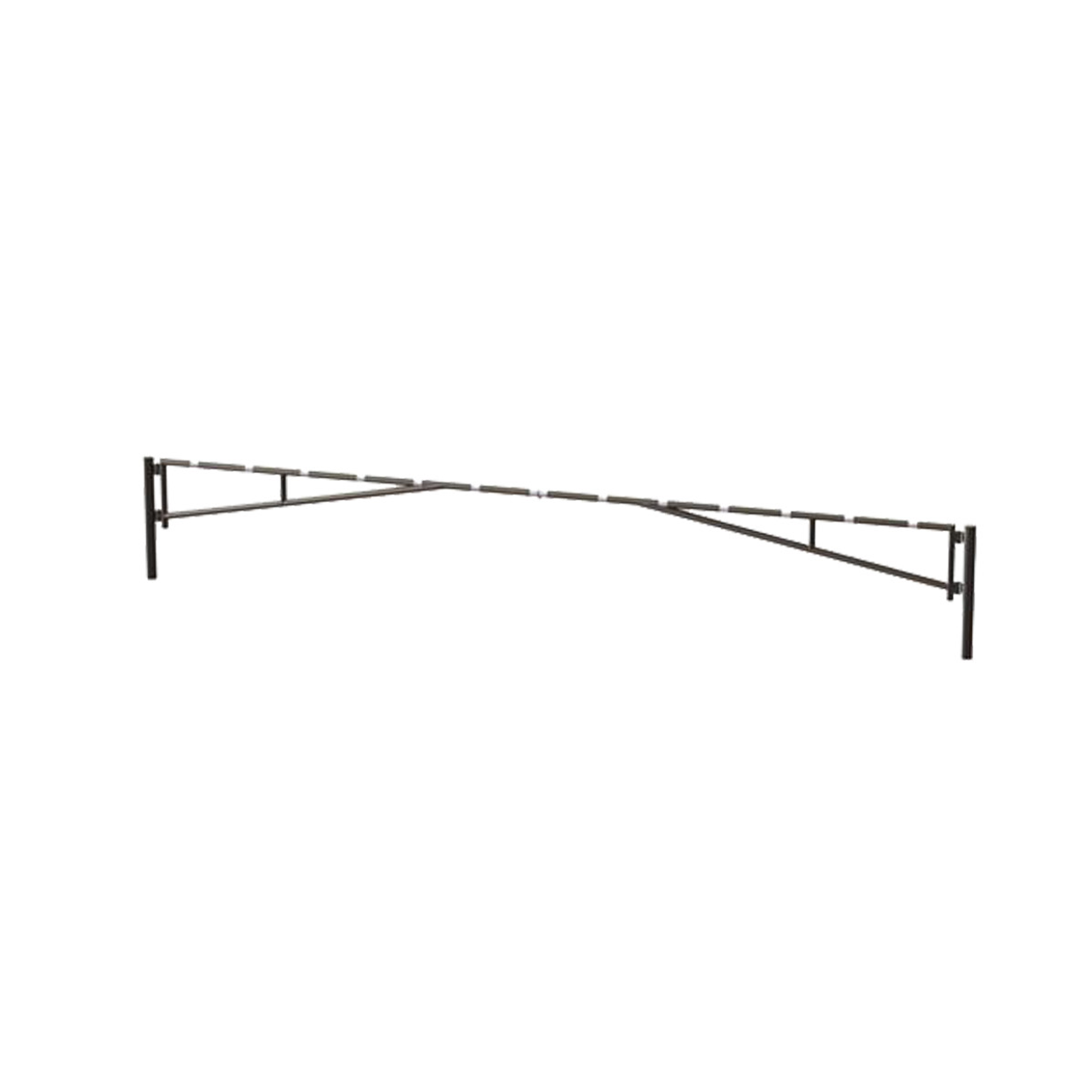 14020 SENTINEL Manual Double Leaf Swing Barrier Gate-Arm Galvanized HERO