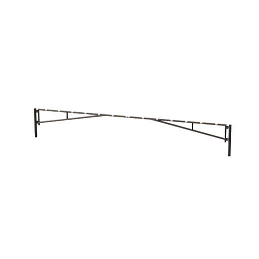 14020, brazo de portón de barrera abatible manual de doble hoja SENTINEL galvanizado IMAGEN PRINCIPAL