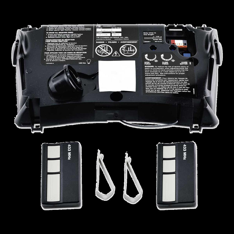 "[""041A5371-3 433MHz Logic Board & Remote Control Kit""]"