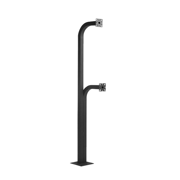"""PED4272 42"""" and 72"""" Dual-Height Pad-Mount Pedestal"""