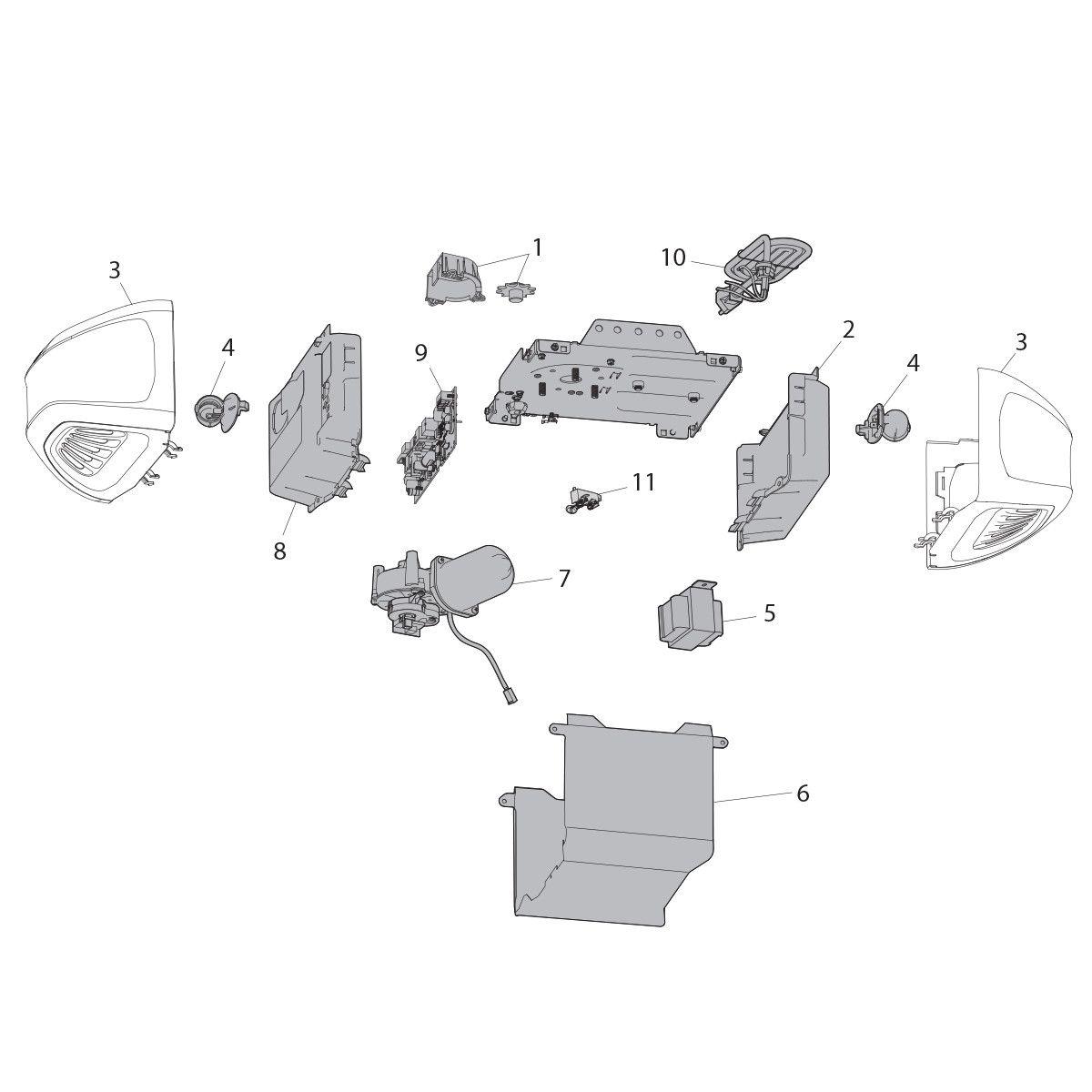 Diagramas de refacciones