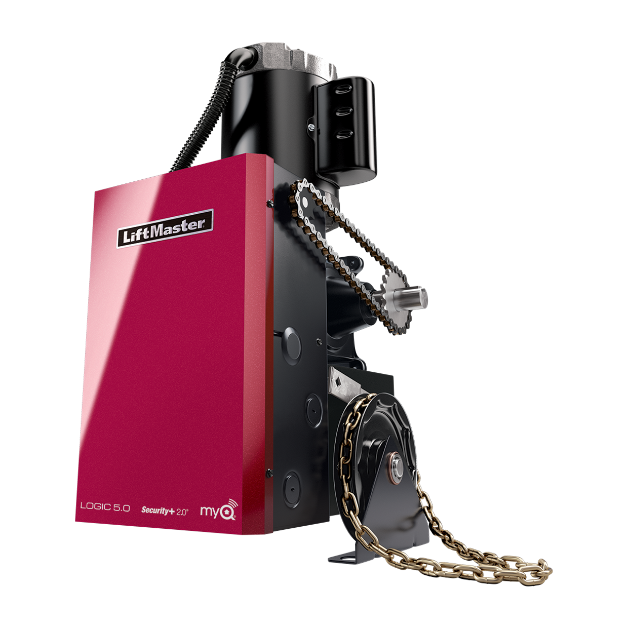 Gh Elite Commercial Door Operators Liftmaster Amp 208 3 Phase Wiring Diagram Get Free Image About Gearhead Hoist Operator Logic 50
