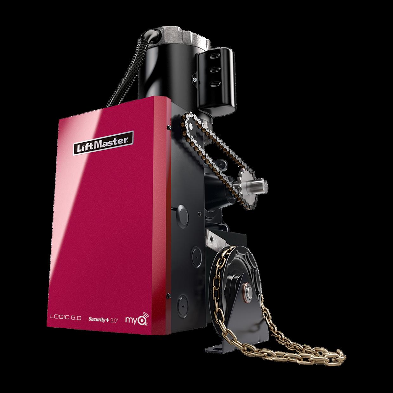 Gh Elite Commercial Door Operators Liftmaster Lift Master Garage Eye Wiring Diagram Gearhead Hoist Operator Logic 50
