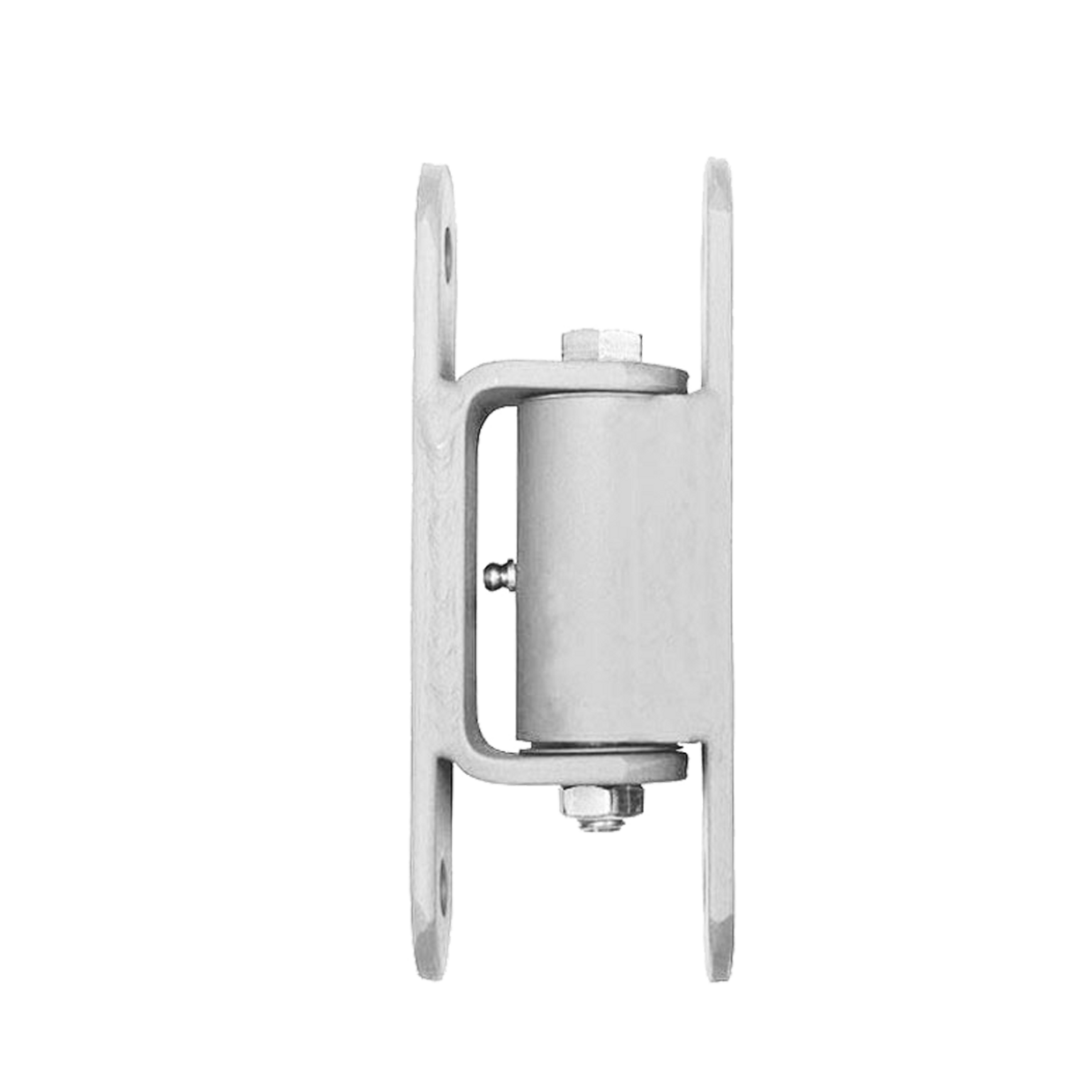 2150Z GUARDIAN Heavy-Duty Hinge Flat-to-Gate Round-to-Post Zinc Plated HERO