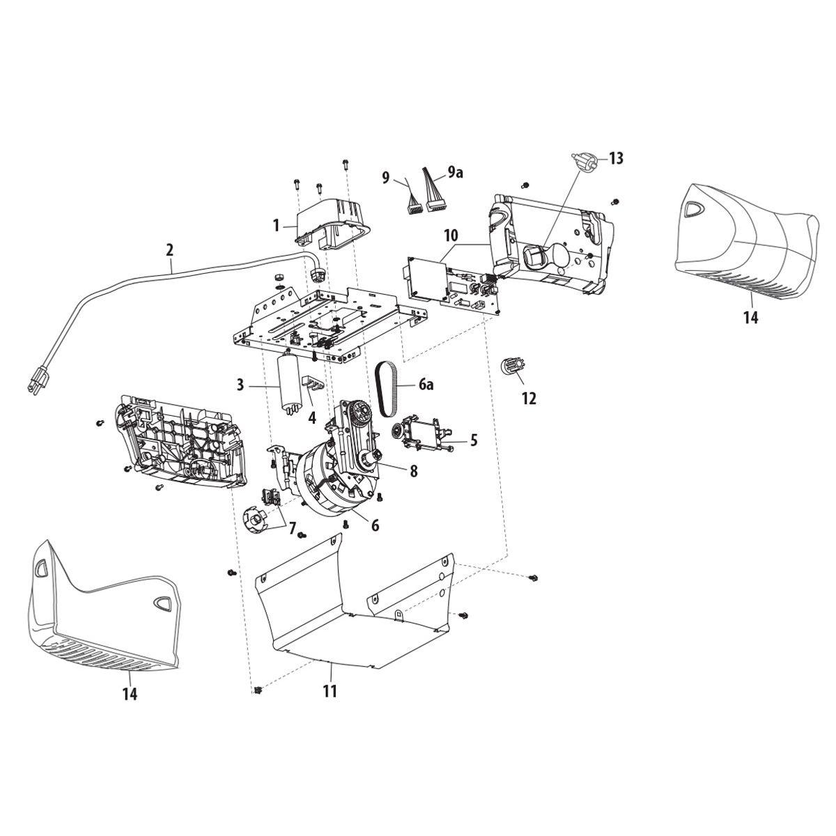 Genie Wiring Diagram