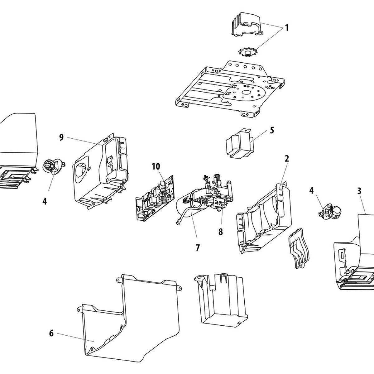 premium series 8360w wifi garage door opener liftmaster Genie Garage Door Opener Wiring Schematic parts diagram