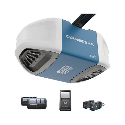 B503 Ultra-Quiet Strong Belt Drive Garage Door Opener with MED Power IN BOX