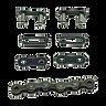 041A1340, kit para extensión de cadena