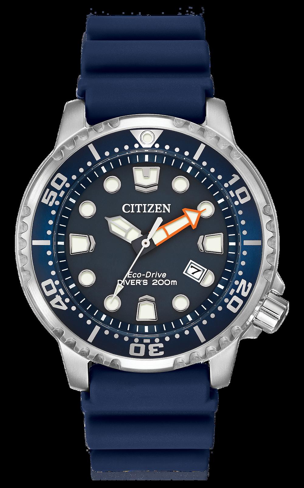 b7f752f22 Promaster Diver-Men s Eco-Drive BN0151-09L Blue Diver Watch