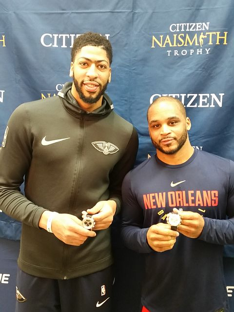 Anthony Davis, 2012, and Jameer Nelson, 2004