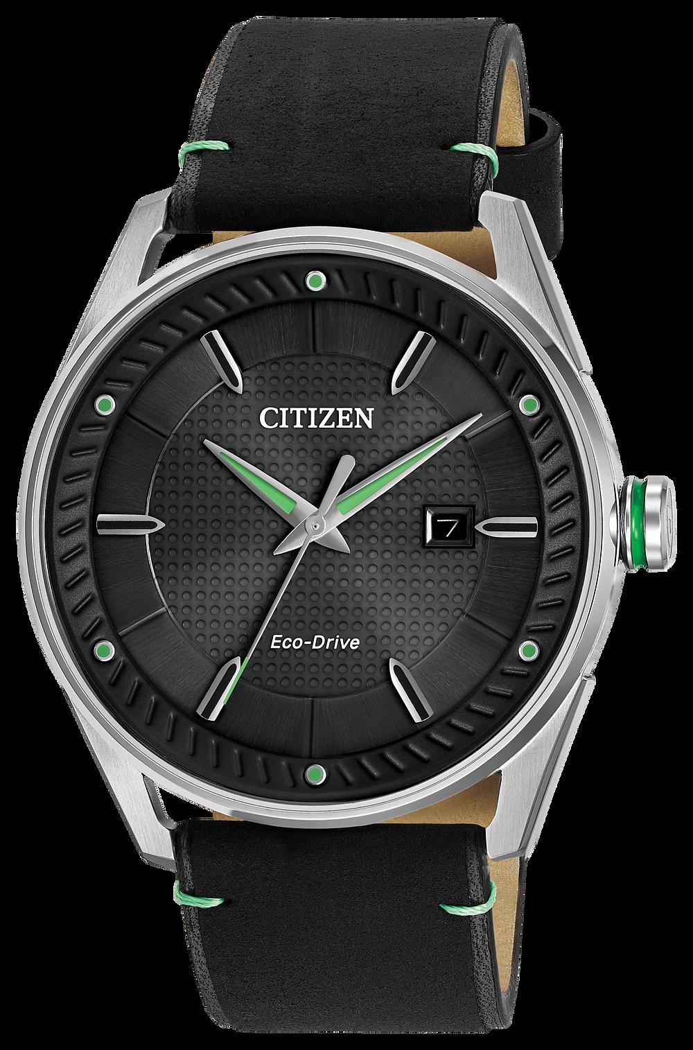 CTO - Men s Eco-Drive BM6980-08E Green Accent Watch  1af68f8ba