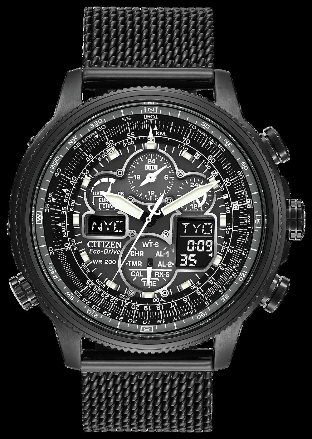 3ef609bb9 Promaster Navihawk A-T - Men's Chronograph JY8037-50E Watch | Citizen