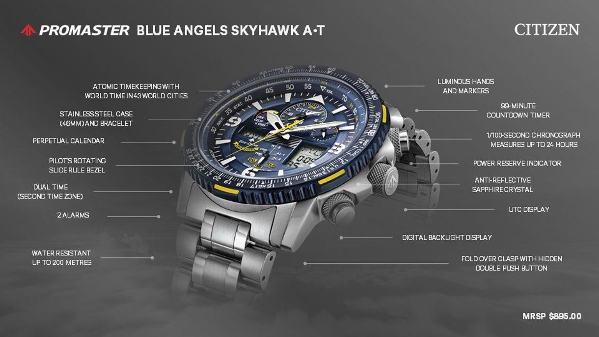 681a600a4 Promaster Skyhawk A-T - Men's Eco-Drive JY8078-52L Watch | Citizen