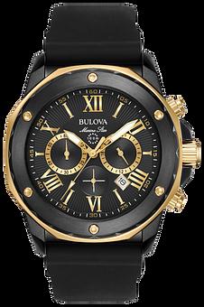 Orologio Bulova Marine Star 330 Feet Cronografo Submariner Watch Chrono Bulova Orologi E Gioielli