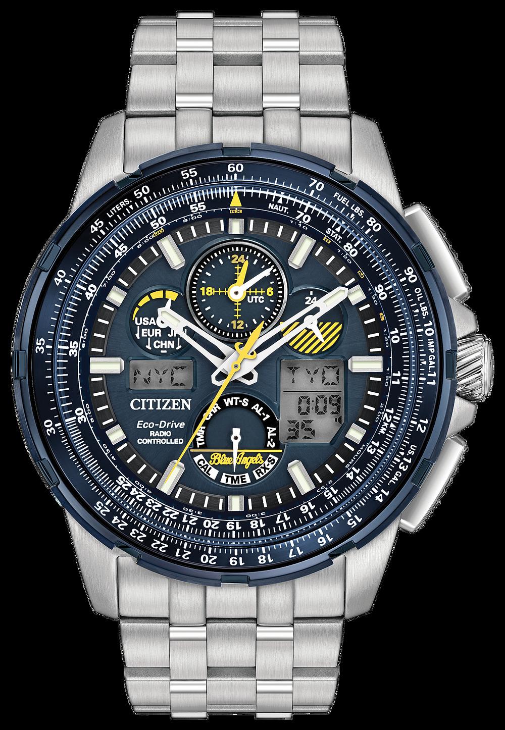 231b8f7d0 Promaster Skyhawk - Eco-Drive JY8058-50L Chronograph Watch