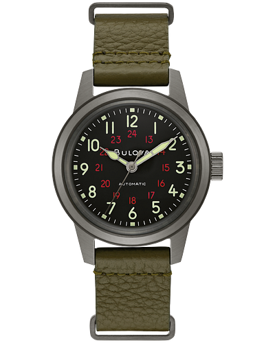 Bulova's New Edition A-15 Pilot's and Hack models Hack%20Watch