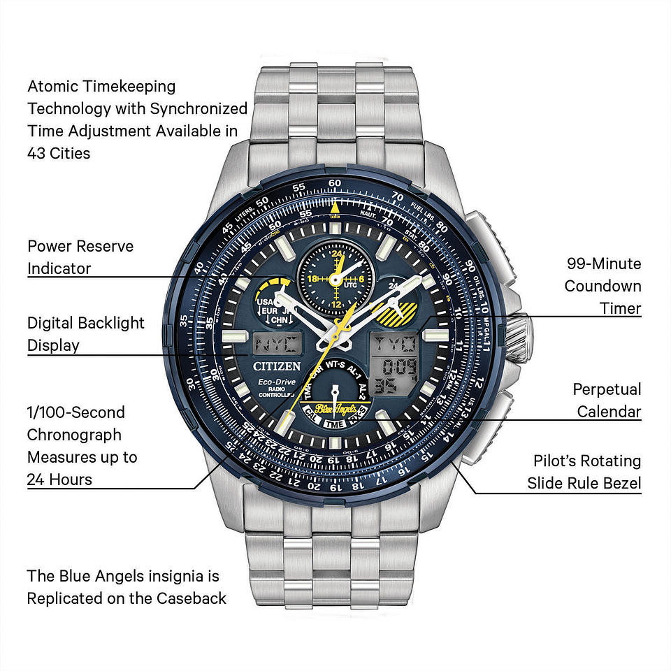 9fa773e15d3 Promaster Skyhawk - Eco-Drive JY8058-50L Chronograph Watch