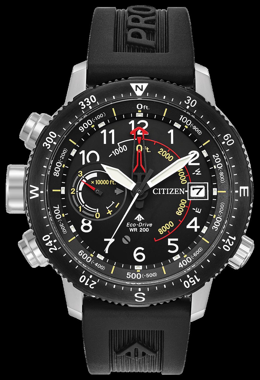 7fe810251 Promaster Altichron - Men's Black BN5058-07E Sports Watch | Citizen