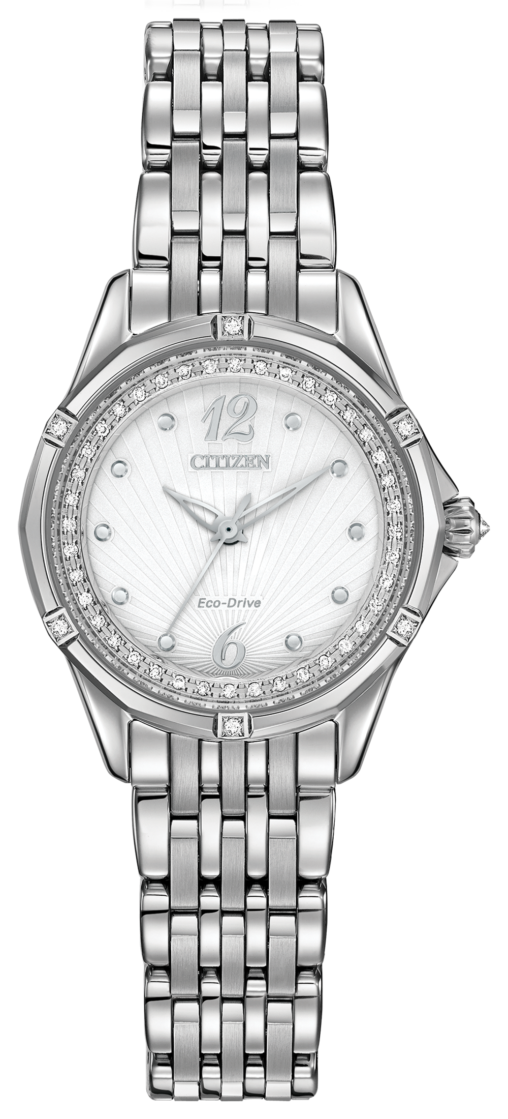Citizen Signature Versailles Silver White Dial Stainless